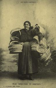 marchande de paniers